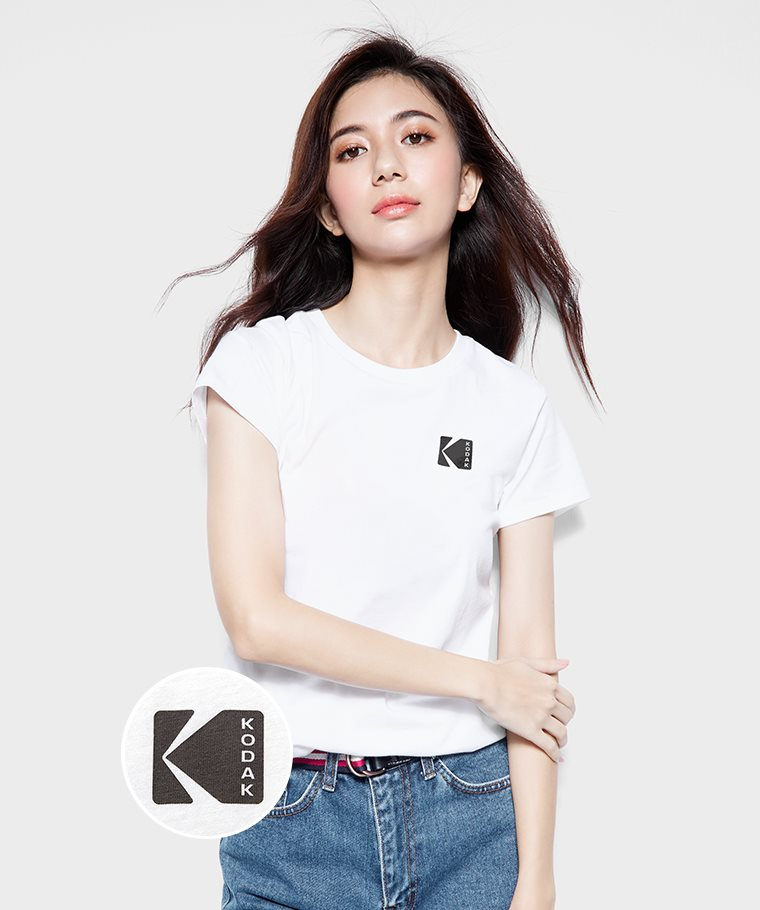 KODAK印花T恤-01-女
