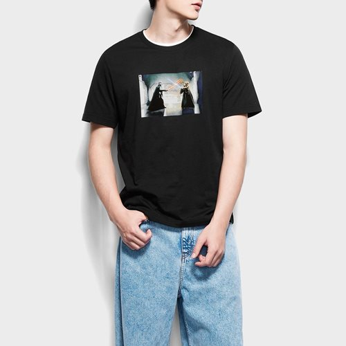 STAR WARS系列印花T恤-07-男