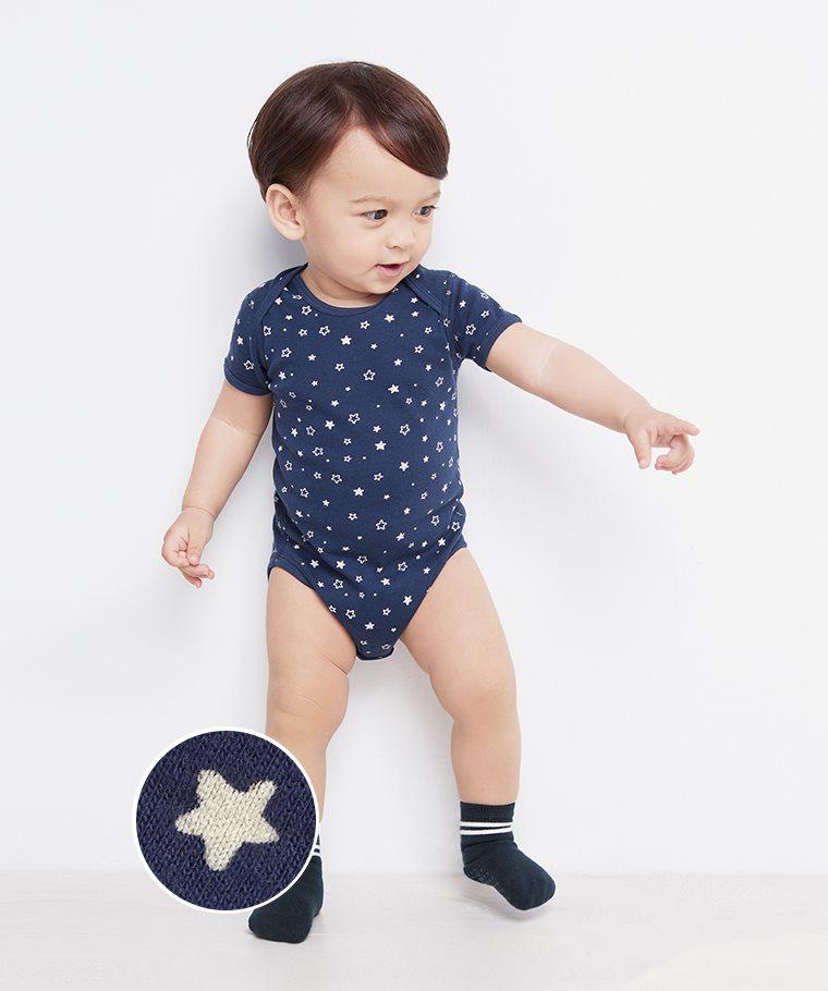 純棉羅紋印花包臀衣-02-Baby