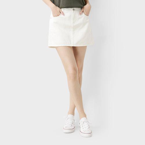 牛仔連褲短裙-02-女