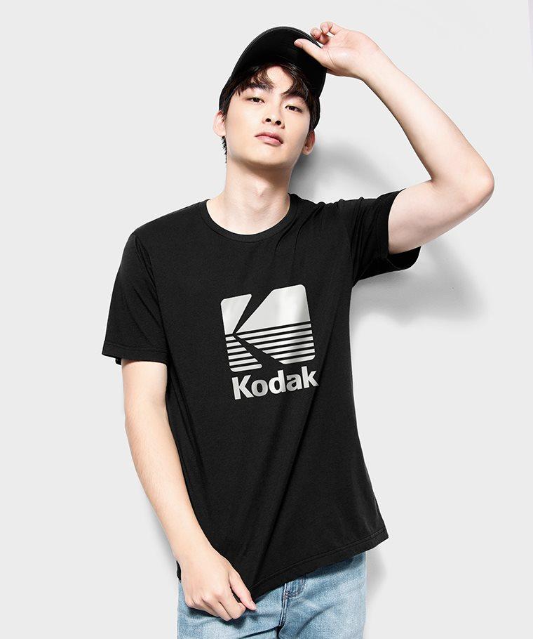 KODAK印花T恤-03-男
