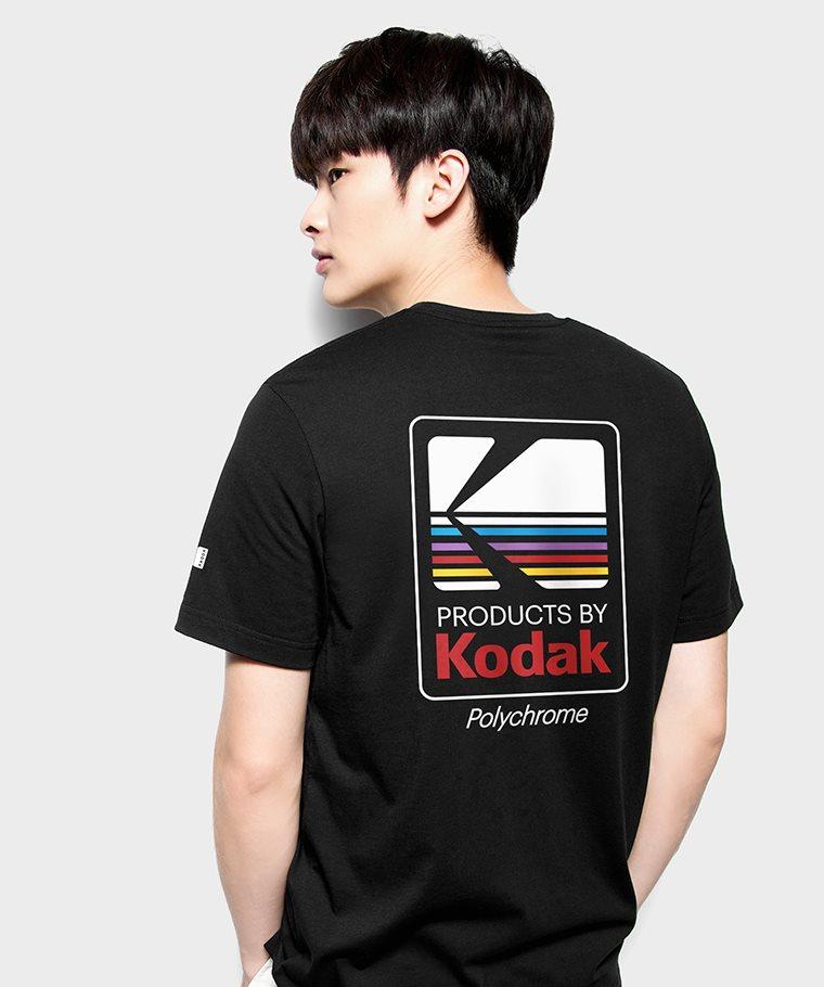 KODAK印花T恤-04-男