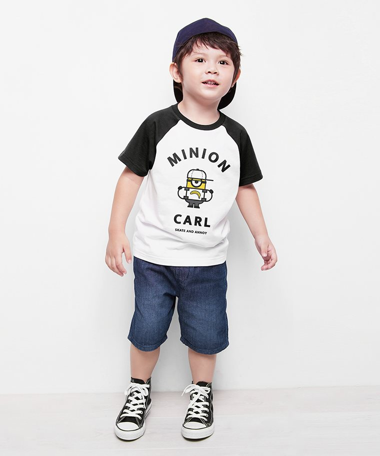 Despicable Me拉克蘭印花T恤-06-童