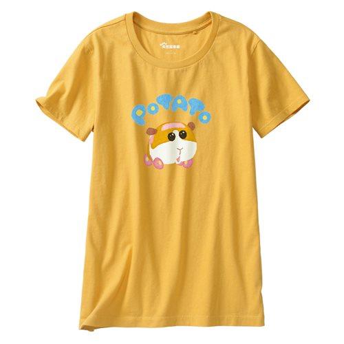 天竺鼠車車印花T恤-01-女