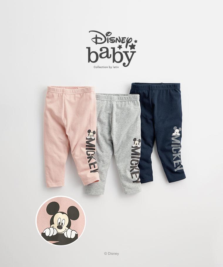 迪士尼系列彈力九分內搭褲-02-Baby