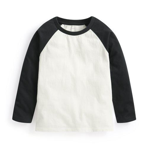 純棉拉克蘭長袖T恤-童