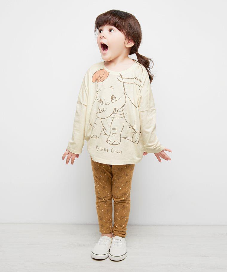 迪士尼系列竹節棉寬鬆T恤-童