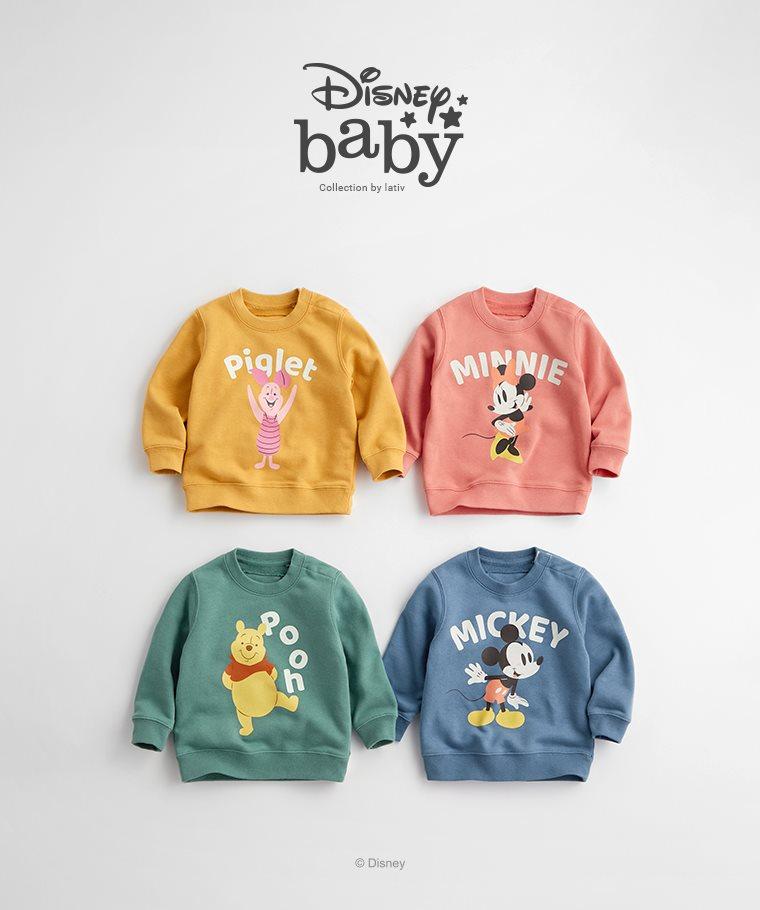 迪士尼系列毛圈圓領衫-11-Baby