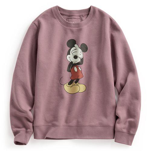 迪士尼系列刷毛圓領衫-01-女