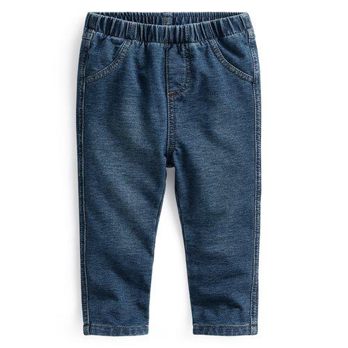 彈性針織牛仔長褲-Baby