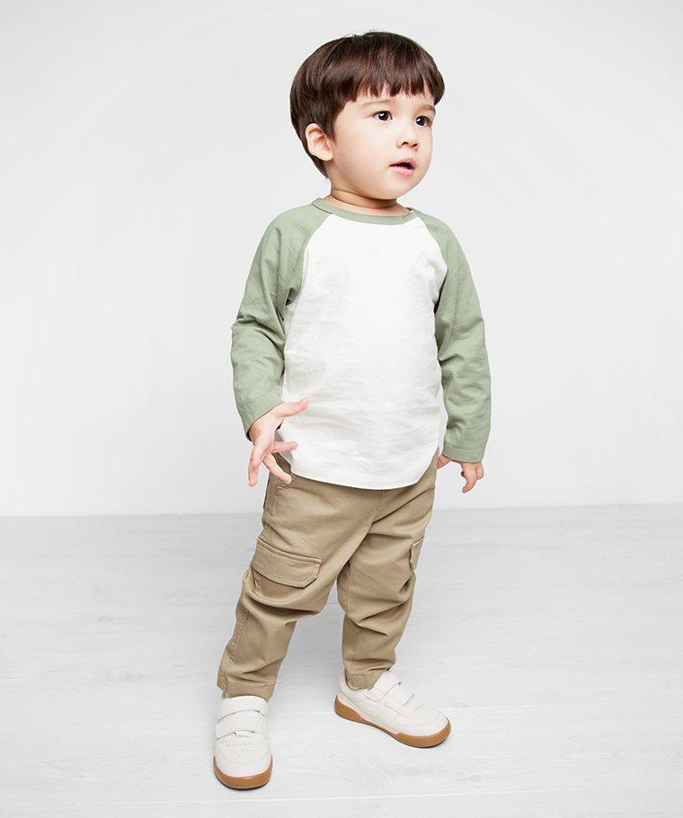 羅紋工作長褲-Baby