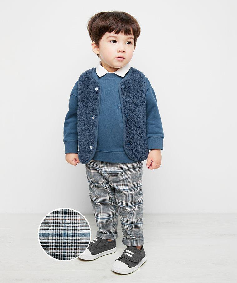 格紋長褲-Baby