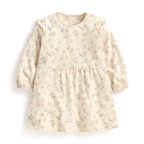 純棉印花洋裝-Baby