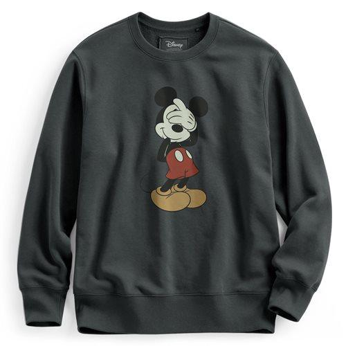 迪士尼系列刷毛圓領衫-01-男