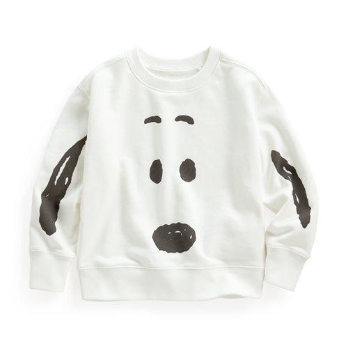 史努比系列毛圈圓領衫-05-童