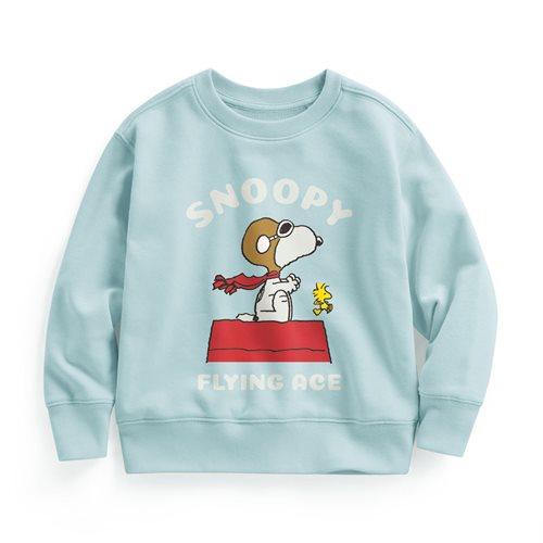 史努比系列毛圈圓領衫-11-童