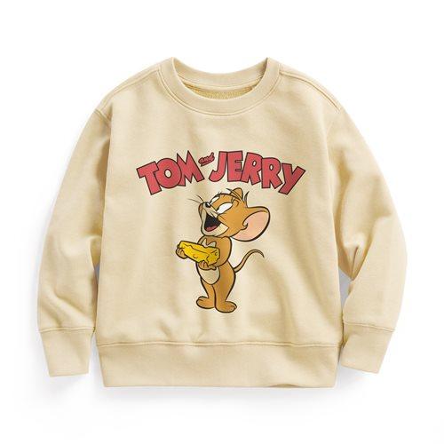 Tom & Jerry毛圈圓領衫-07-童