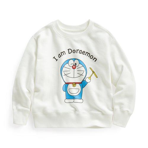 哆啦A夢毛圈圓領衫-04-童