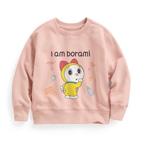 哆啦A夢毛圈圓領衫-05-童