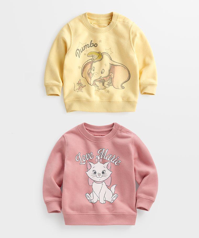 迪士尼系列毛圈圓領衫-12-Baby