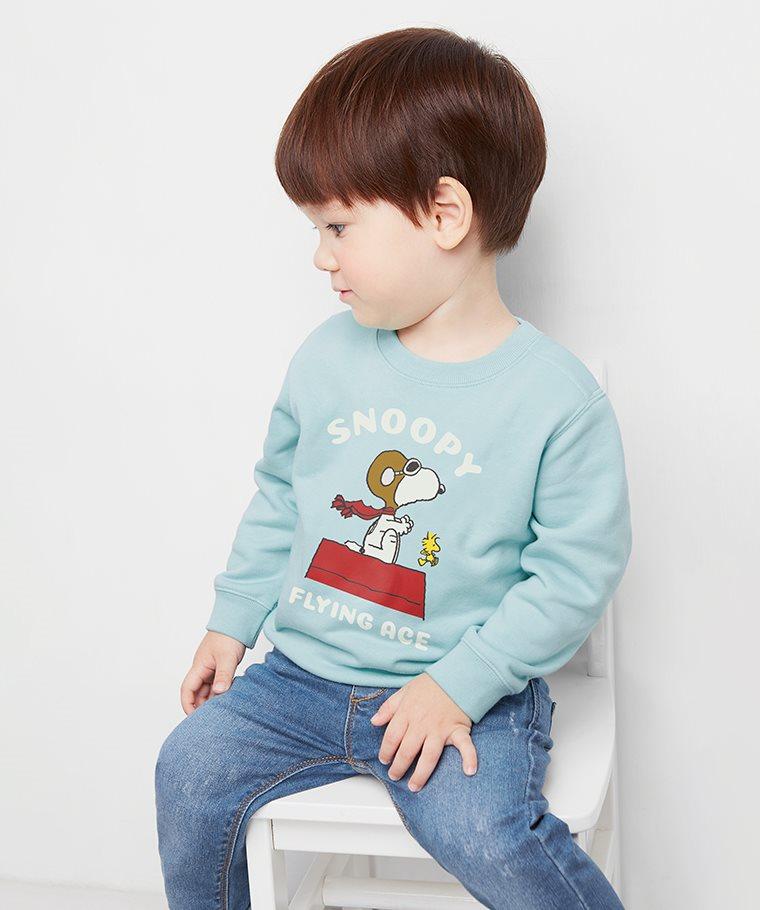 史努比系列毛圈圓領衫-11-Baby