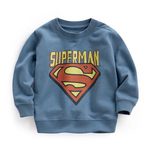 Superman毛圈圓領衫-01-Baby