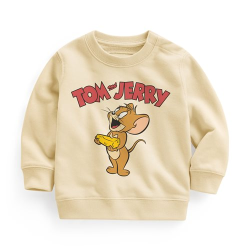 Tom & Jerry毛圈圓領衫-07-Baby
