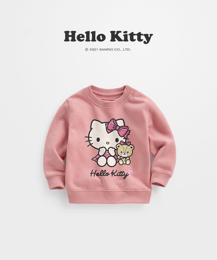 Hello Kitty毛圈圓領衫-05-Baby