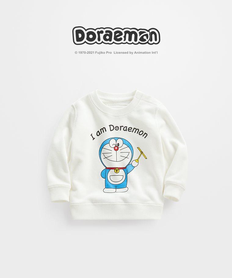 哆啦A夢毛圈圓領衫-04-Baby