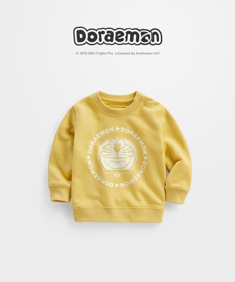 哆啦A夢毛圈圓領衫-03-Baby