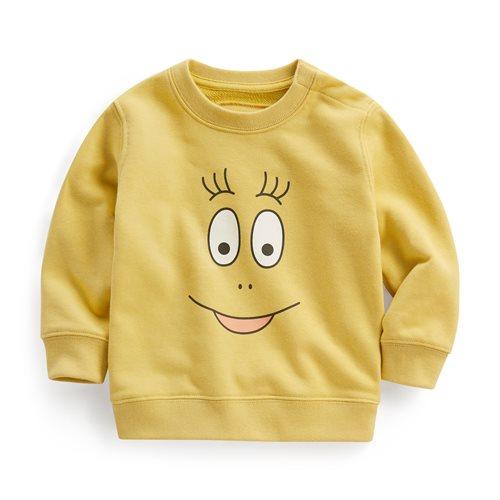 BARBAPAPA毛圈圓領衫-01-Baby