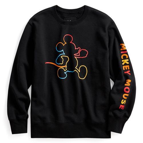 迪士尼系列刷毛圓領衫-02-男