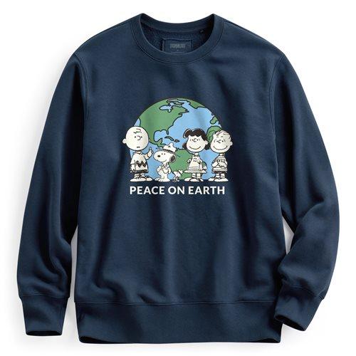史努比系列刷毛圓領衫-04-男