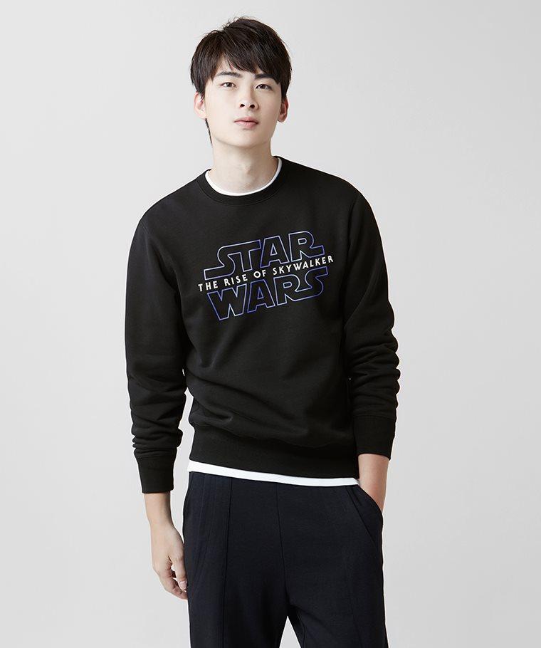 STAR WARS系列刷毛圓領衫-04-男