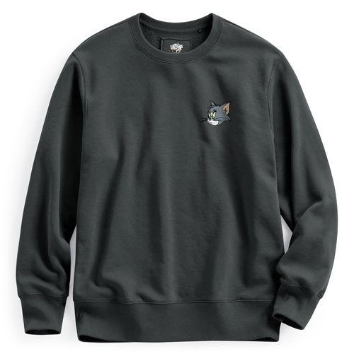 Tom & Jerry刷毛圓領衫-01-男