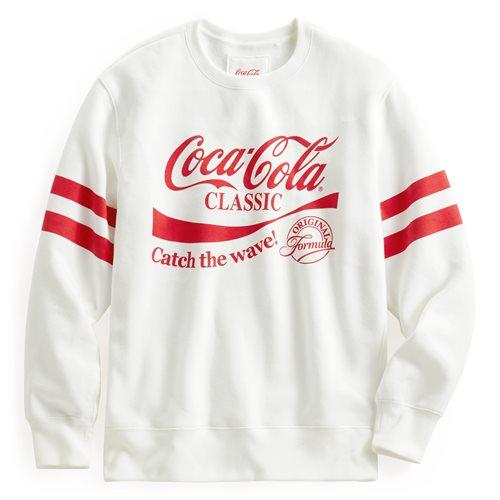 可口可樂刷毛圓領衫-02-男