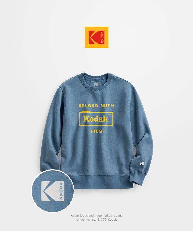 KODAK刷毛圓領衫-02-男