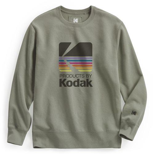 KODAK刷毛圓領衫-03-男