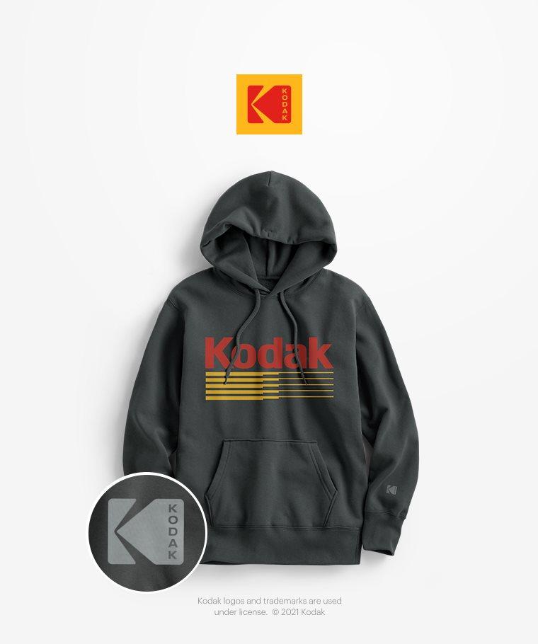 KODAK刷毛連帽衫-06-男