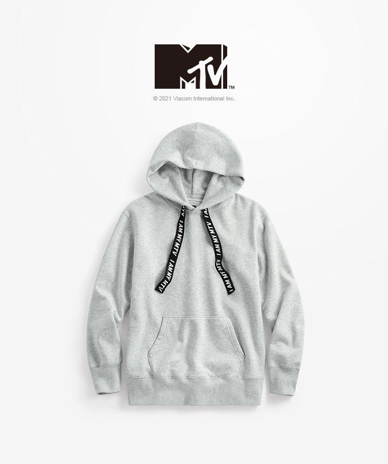 MTV刷毛連帽衫-03-男