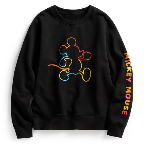 迪士尼系列刷毛圓領衫-02-女