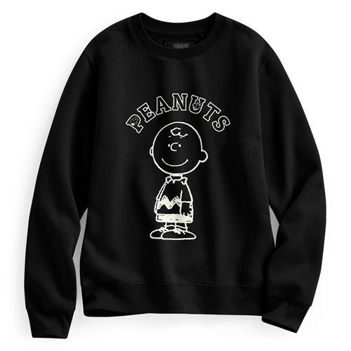 史努比系列刷毛圓領衫-02-女