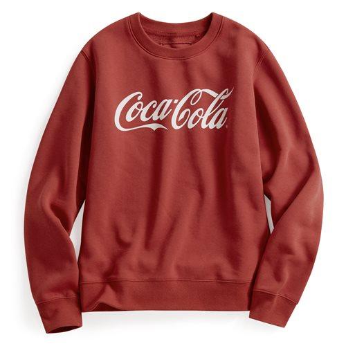 可口可樂刷毛圓領衫-01-女