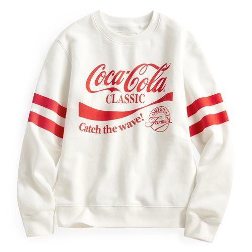 可口可樂刷毛圓領衫-02-女
