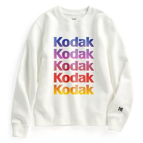 KODAK刷毛圓領衫-01-女