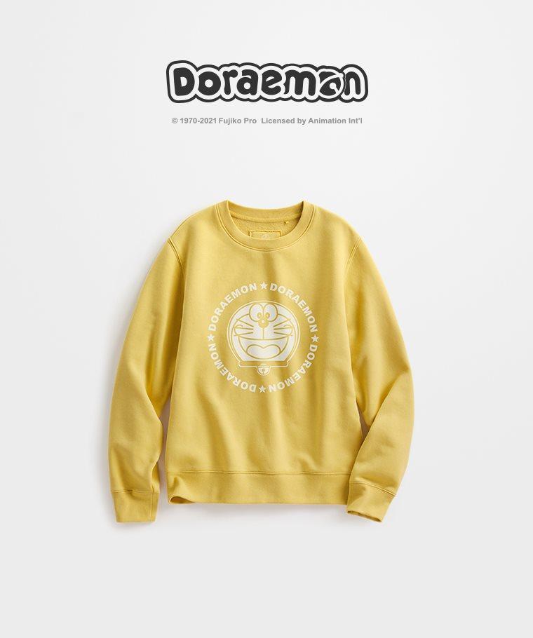 哆啦A夢刷毛圓領衫-03-女