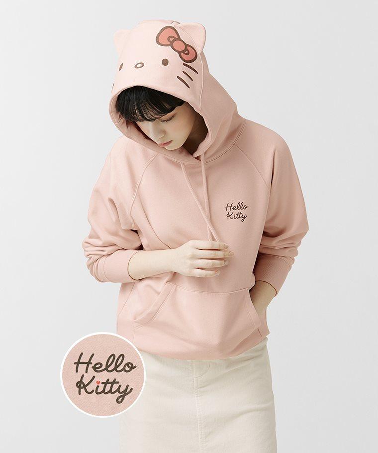 Hello Kitty刷毛連帽衫-03-女