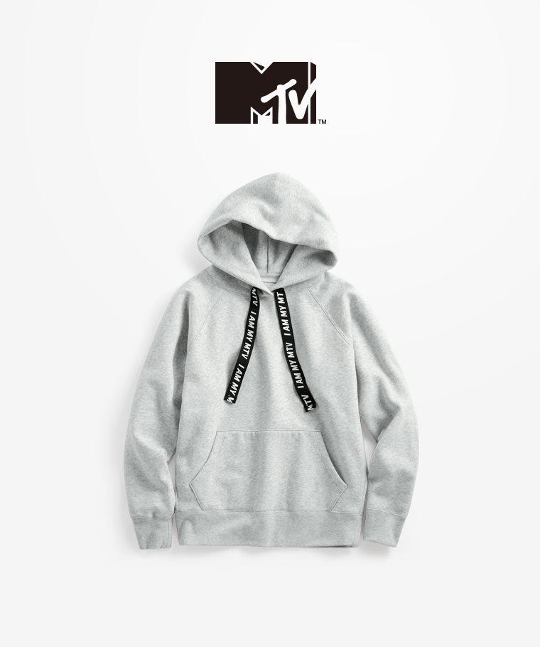 MTV刷毛連帽衫-03-女