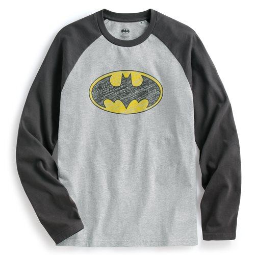 Batman拉克蘭長袖印花T恤-01-男