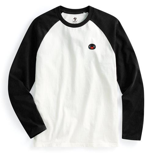 PINGU拉克蘭長袖印花T恤-02-男